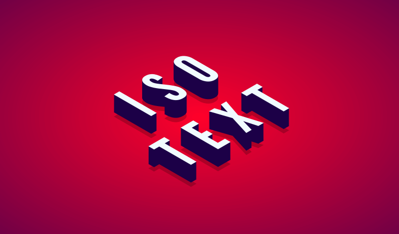Create isometric text with Affinity Designer