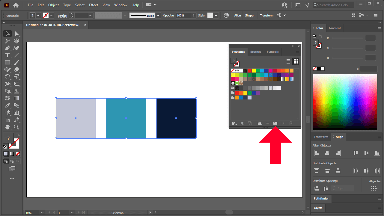 New color group