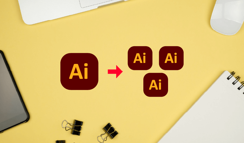 Save artboards as separate files in Illustrator