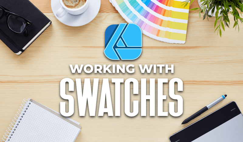 Working with swatches in Affinity Designer