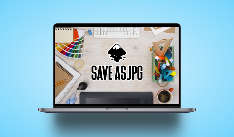 Save as JPG with Inkscape