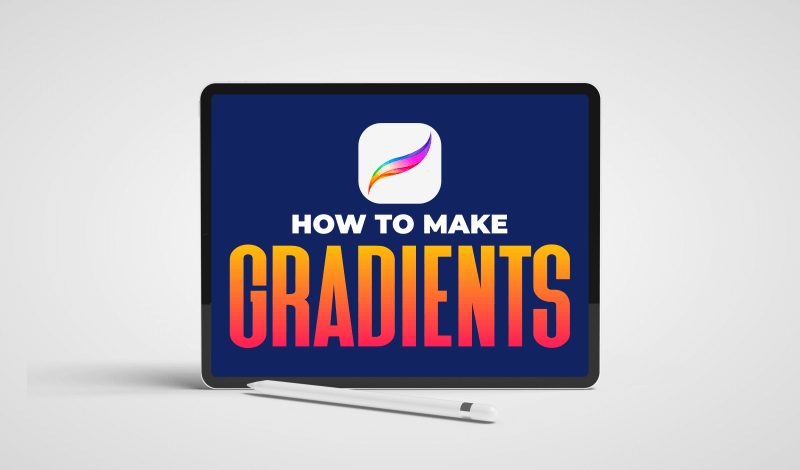 How to make gradients with Procreate