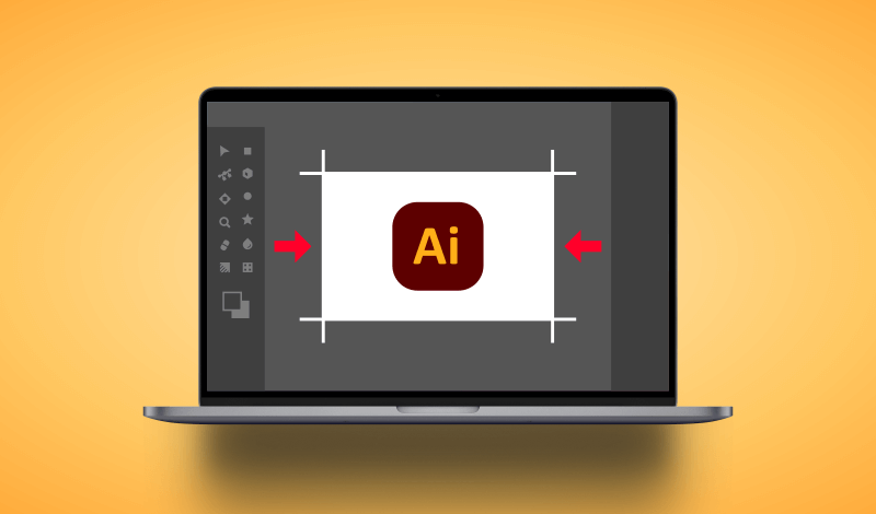 Change the canvas size in Adobe Illustrator