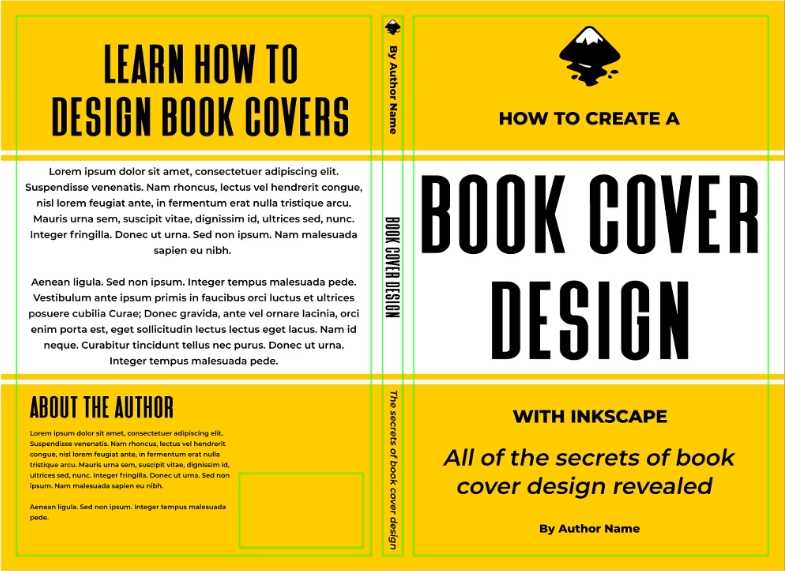 Finished back cover