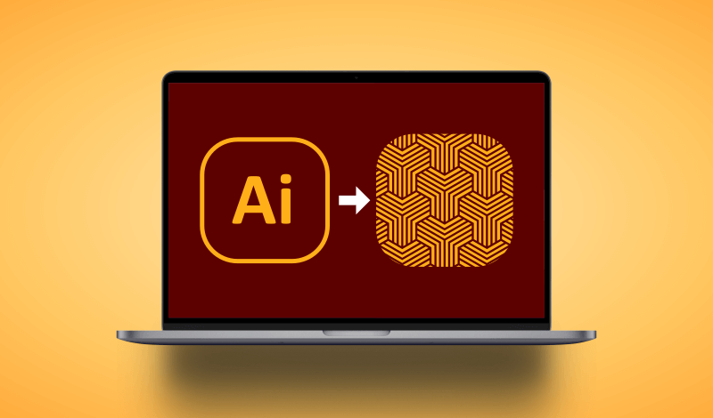 Add a pattern to a shape in Illustrator