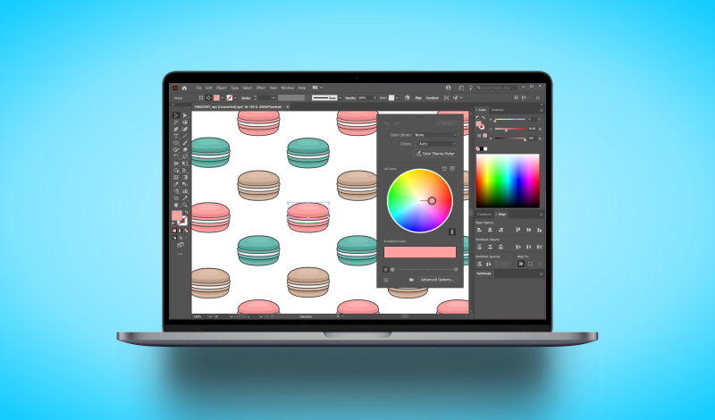 Replace a color in Illustrator
